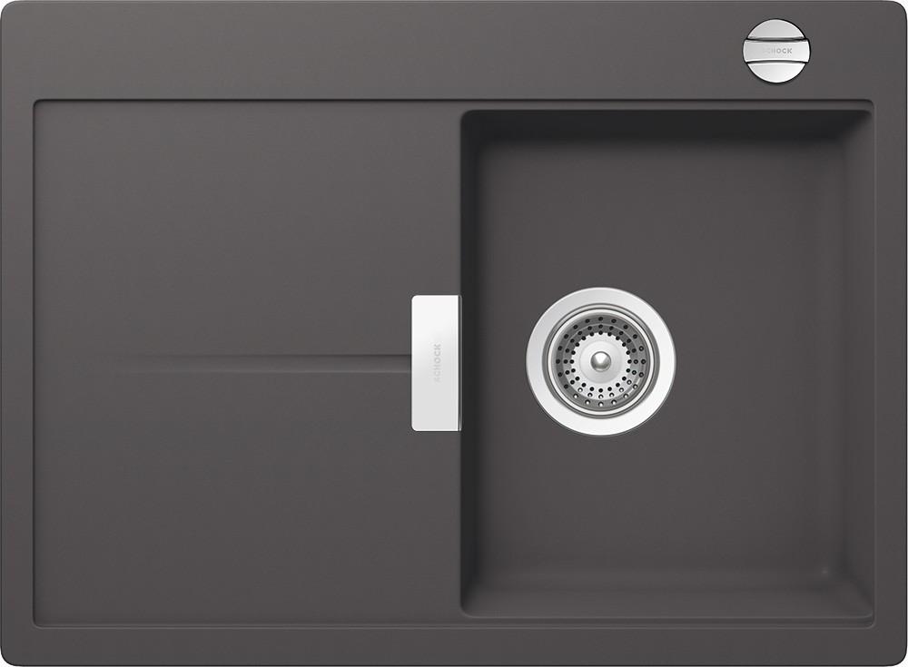 Chiuveta Granit Schock Eden D-100S Basalt Cristalite 680 x 500 mm cu Sifon Automat