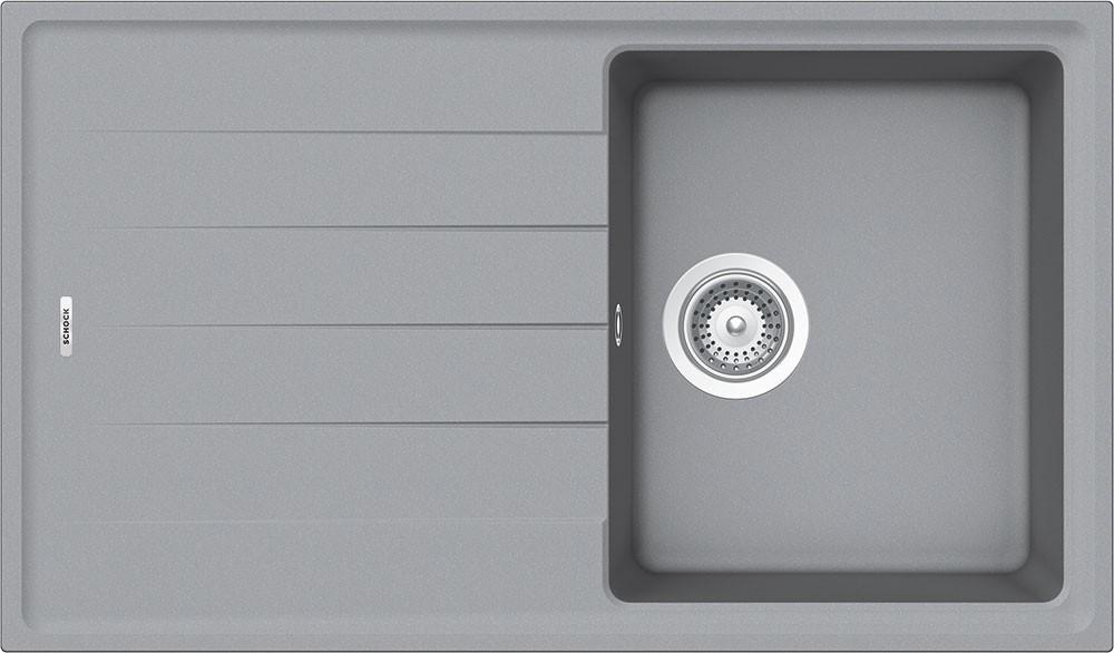 Chiuveta Granit Schock Element D-100S Croma Cristalite 780 x 500 mm
