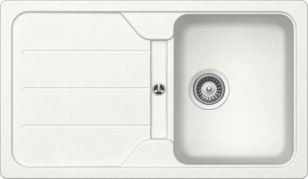 Chiuveta Granit Schock Formhaus D-100 Alpina Cristalite 860 x 500 mm