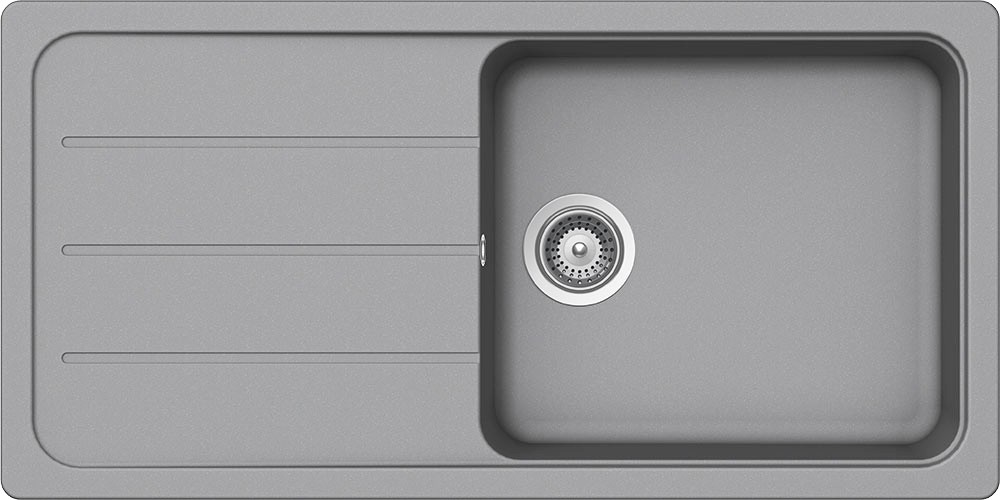 Chiuveta Granit Schock Formhaus D-100L Croma Cristalite 1000 x 500 mm
