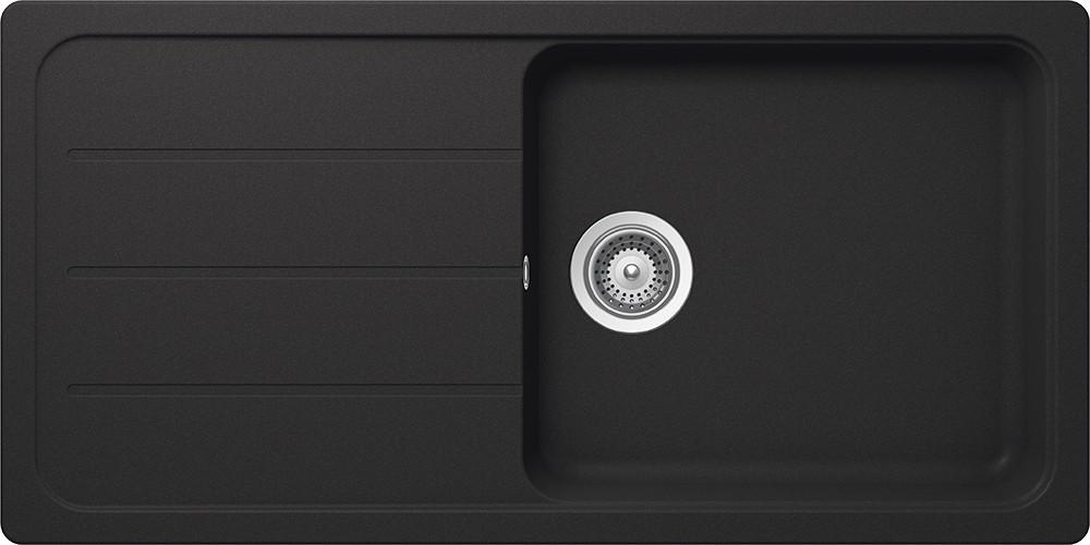 Chiuveta Granit Schock Formhaus D-100L Onyx Cristalite 1000 x 500 mm