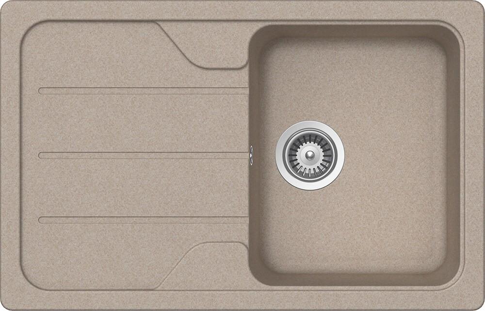 Chiuveta Granit Schock Formhaus D-100S Sabbia Cristalite 780 x 500 mm