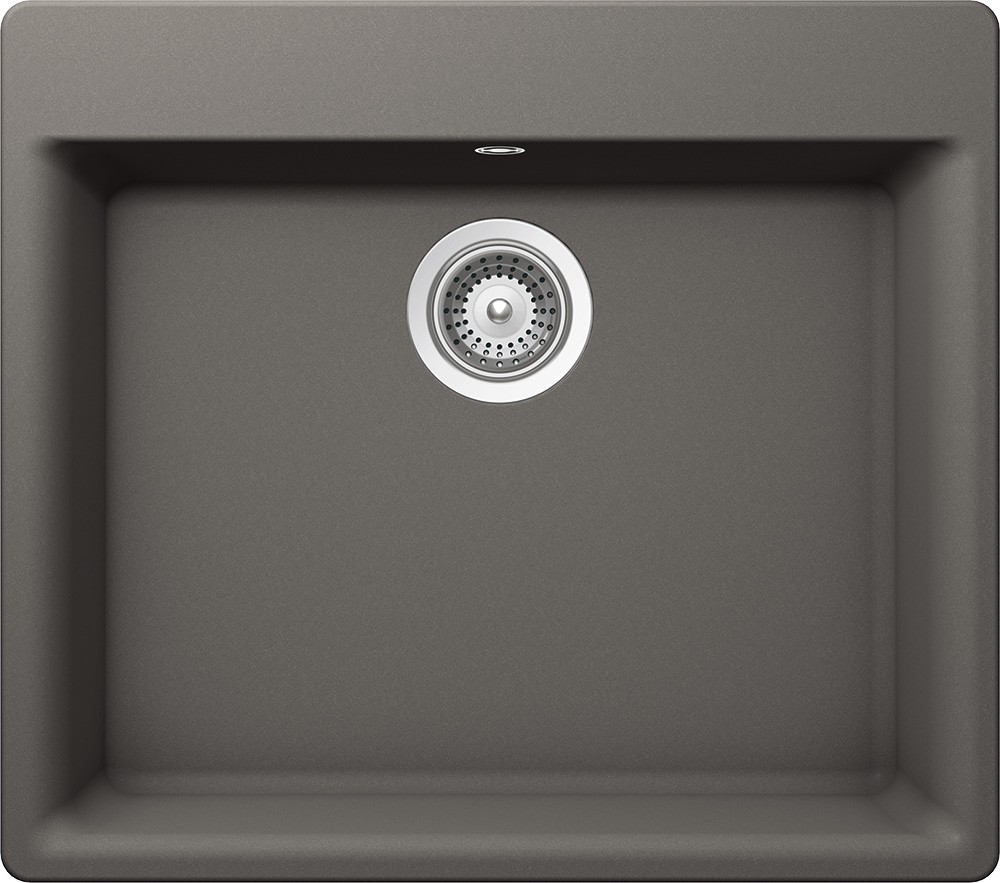 Chiuveta Granit Schock Galaxy N-100 Silverstone Cristadur 600 x 530 mm