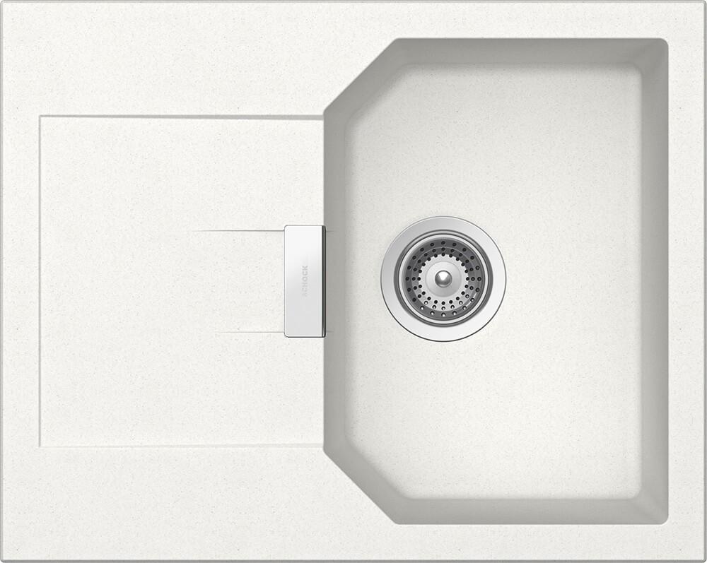 Chiuveta Granit Schock Manhattan D-100XS Alpina Cristalite 640 x 510 mm