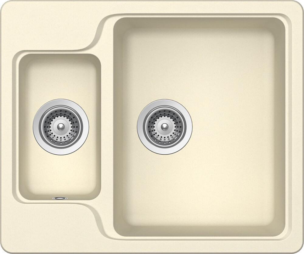 Chiuveta Granit Schock Manhattan N-150 Crema Cristalite 610 x 510 mm