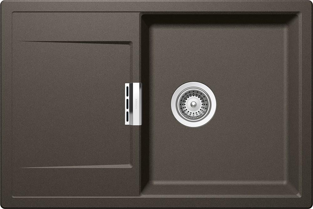 Chiuveta Granit Schock Mono D-100 Carbonium Cristadur 765 x 510 mm