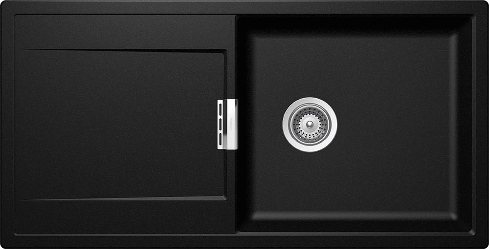 Chiuveta Granit Schock Mono D-100L Magma Cristadur 1000 x 510 mm