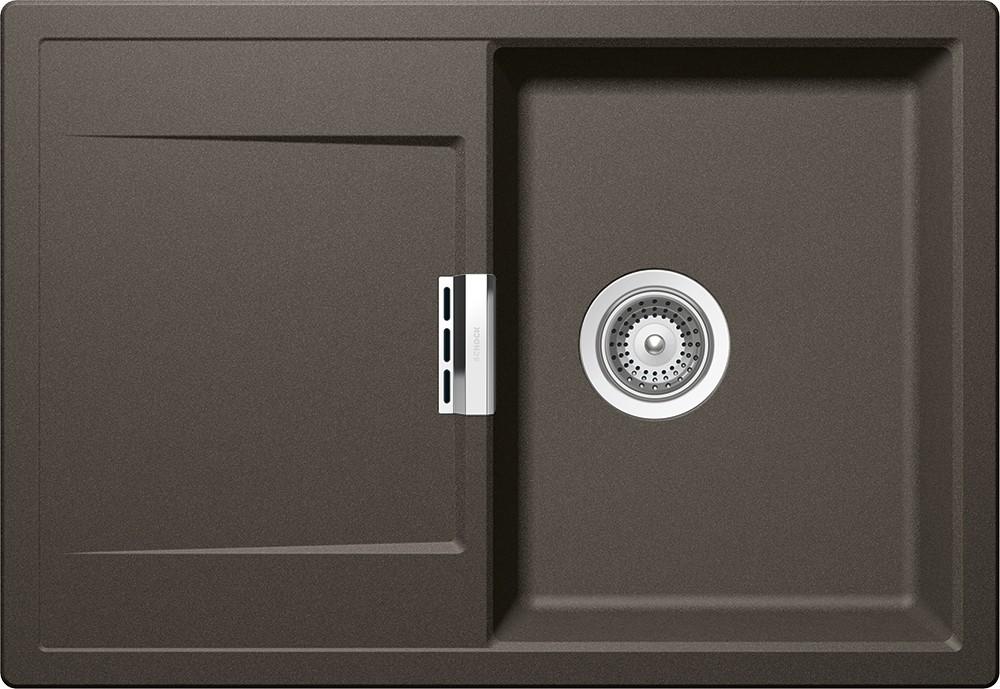 Chiuveta Granit Schock Mono D-100S Carbonium Cristadur 740 x 510 mm