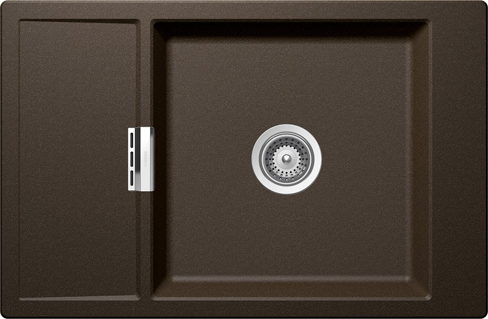 Chiuveta Granit Schock Mono D-100XS Bronze Cristadur 780 x 510 mm