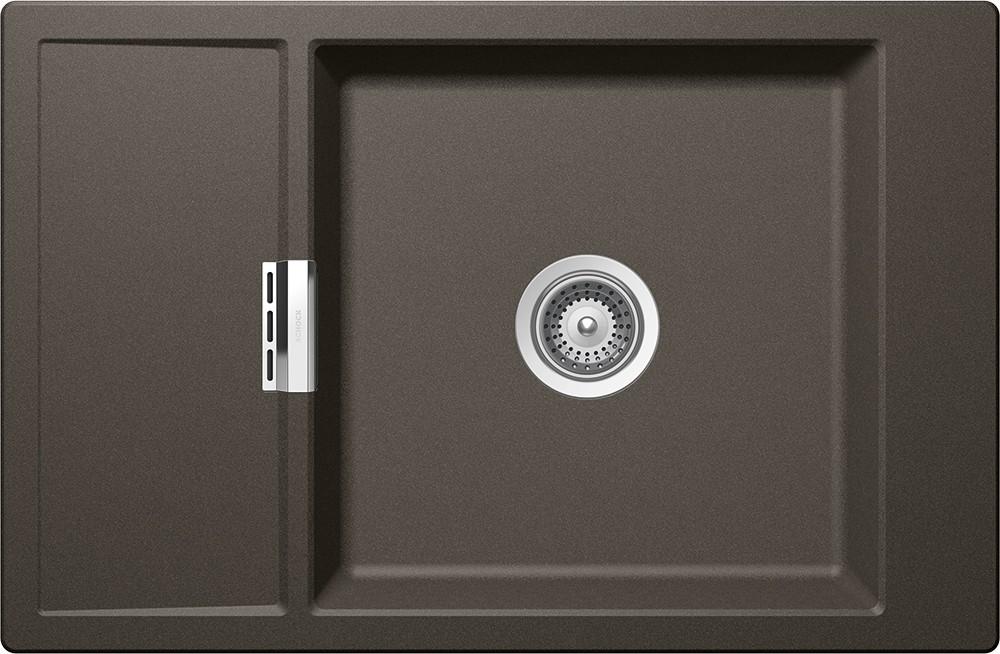Chiuveta Granit Schock Mono D-100XS Carbonium Cristadur 780 x 510 mm