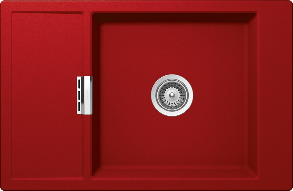 Chiuveta Granit Schock Mono D-100XS Rosu 780 x 510 mm