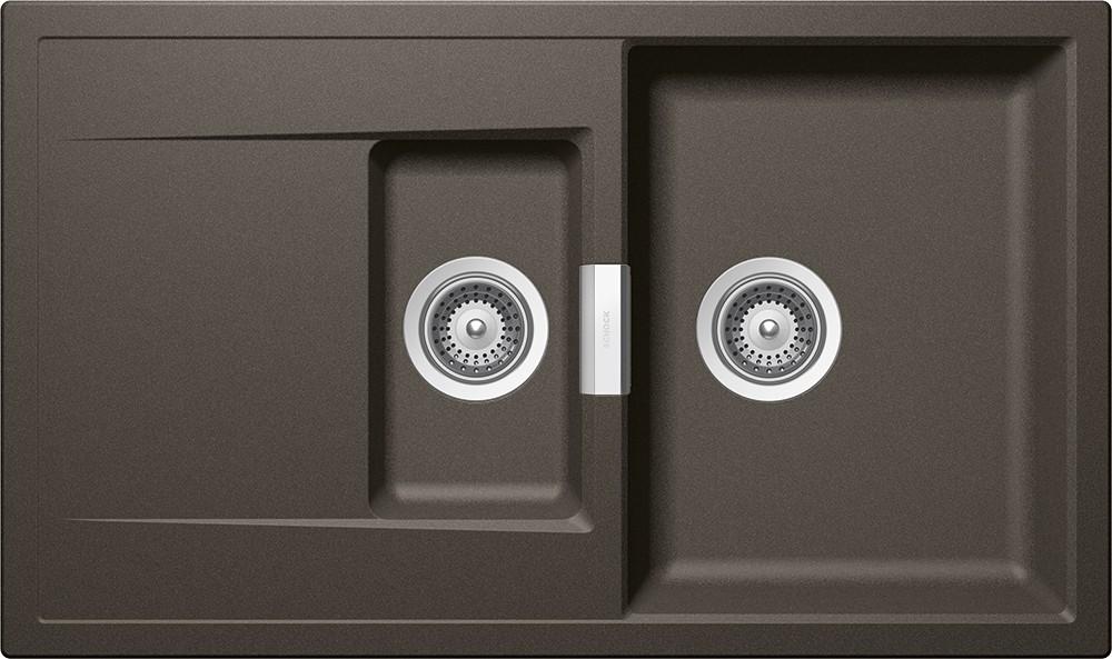 Chiuveta Granit Schock Mono D-150 Carbonium Cristadur 860 x 510 mm