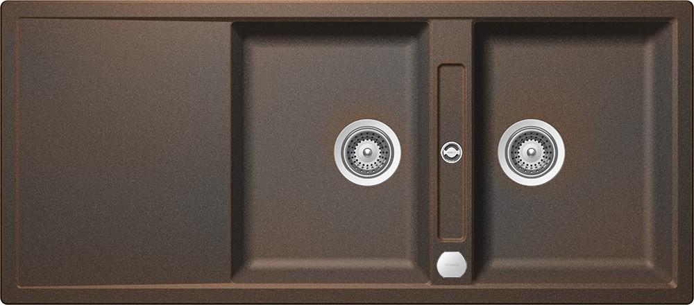 Chiuveta Granit Schock Mono D-200 Vintage Cristadur 1160 x 510 mm cu Sifon Automat