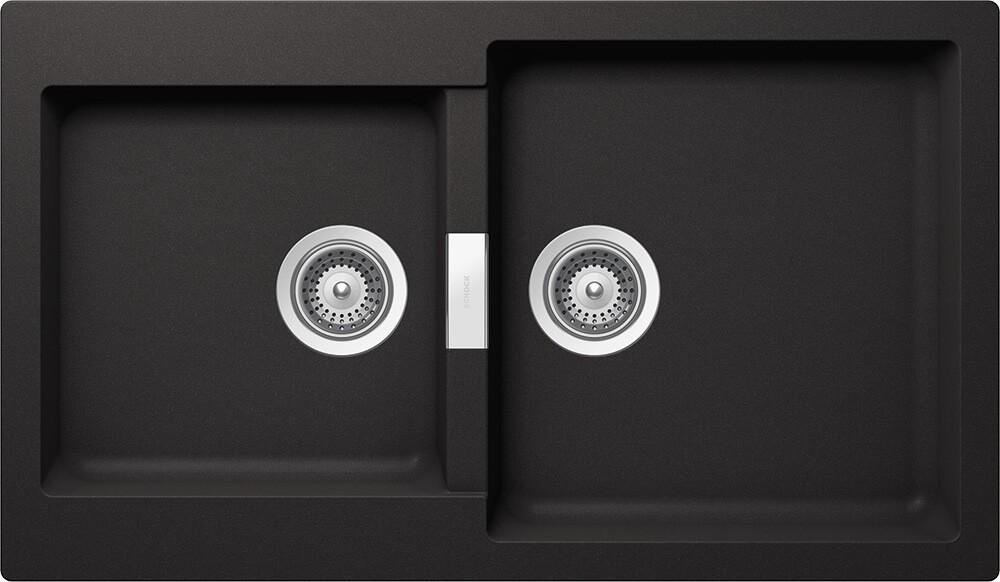 Chiuveta Granit Schock Primus N-200 Nero Cristalite 860 x 500 mm