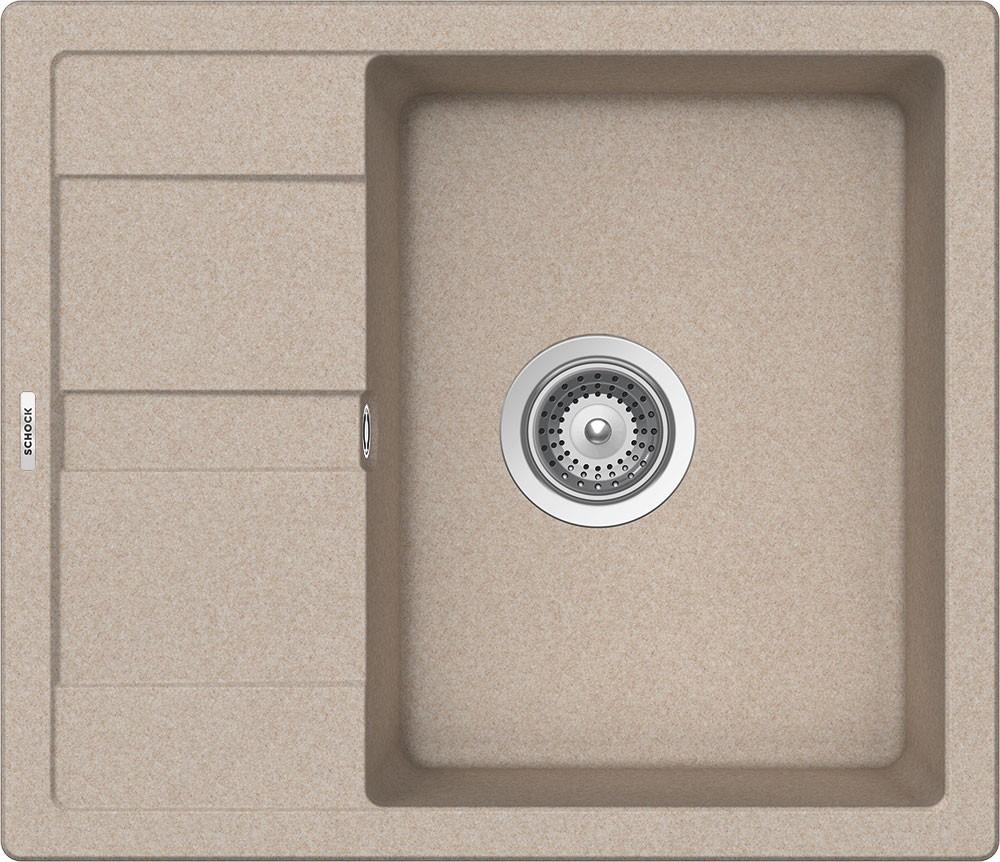 Chiuveta Granit Schock Ronda D-100 Sabbia 580 x 500 mm
