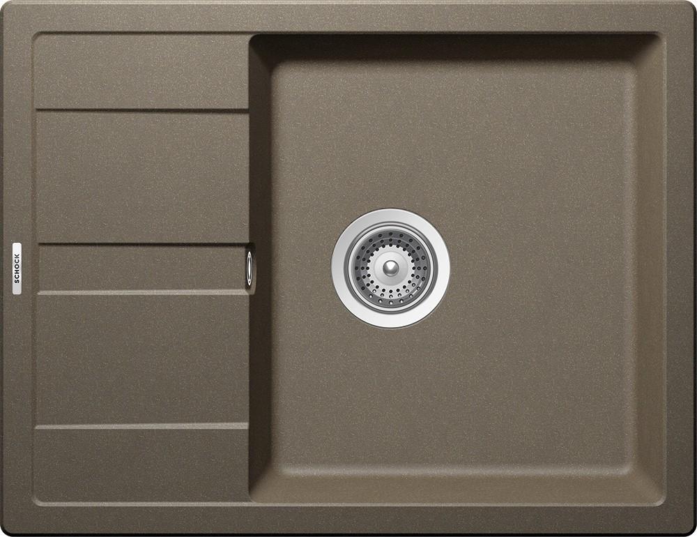 Chiuveta Granit Schock Ronda D-100L Alpaca Cristalite 650 x 500 mm