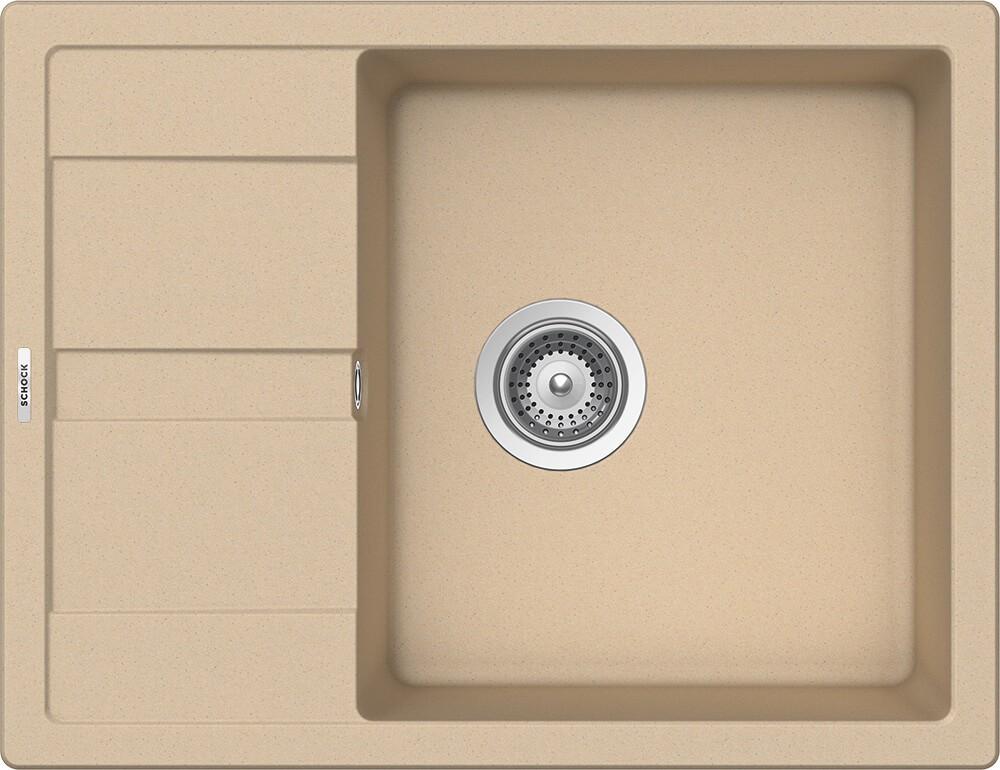 Chiuveta Granit Schock Ronda D-100L Moonstone Cristalite 650 x 500 mm