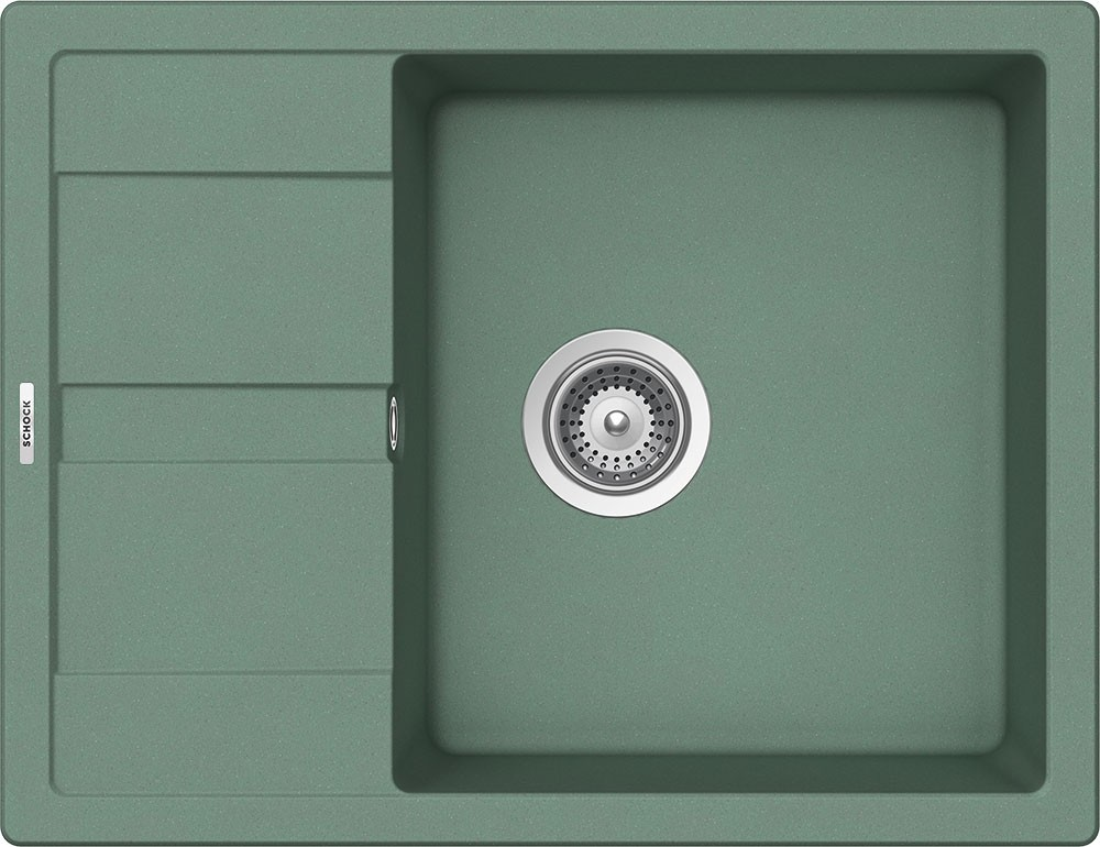 Chiuveta Granit Schock Ronda D-100L Sage Cristalite 650 x 500 mm
