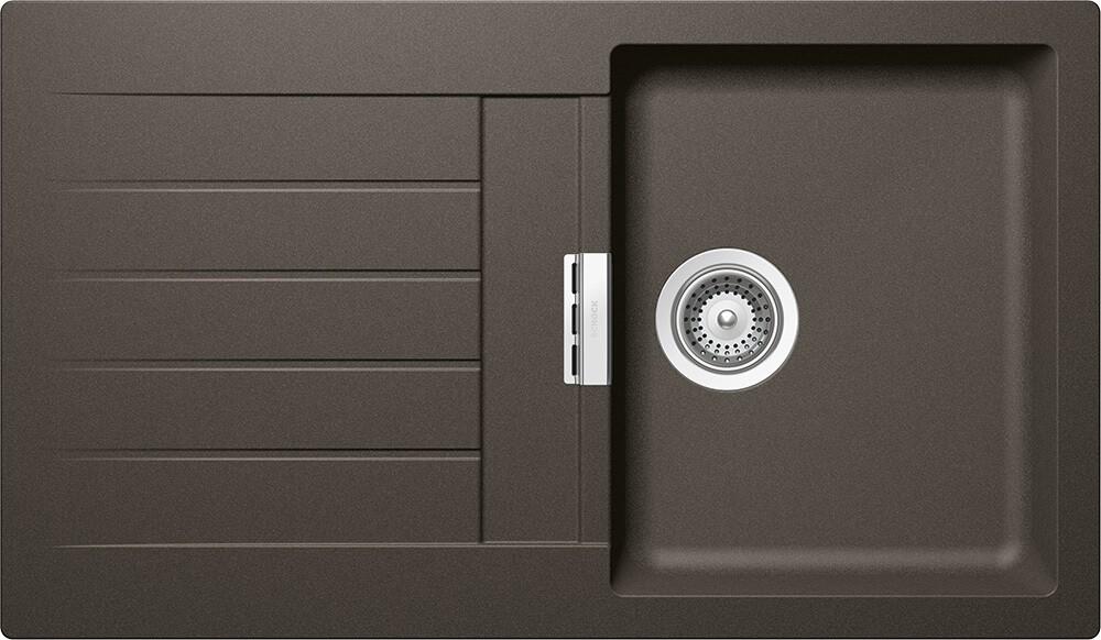 Chiuveta Granit Schock Signus D-100 Carbonium Cristadur 860 x 500 mm