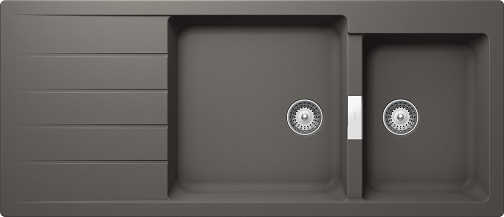 Chiuveta Granit Schock Signus D-175 Silverstone Cristadur 1160 x 500 mm