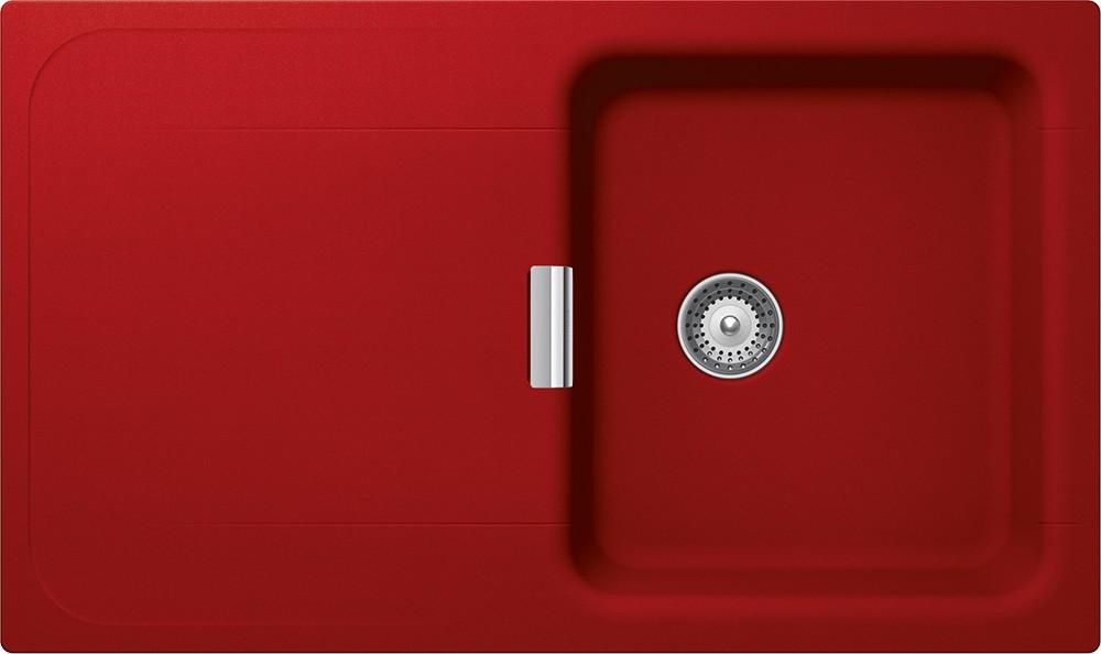 Chiuveta Granit Schock Wembley D-100 Rosu Cristadur 860 x 510 mm