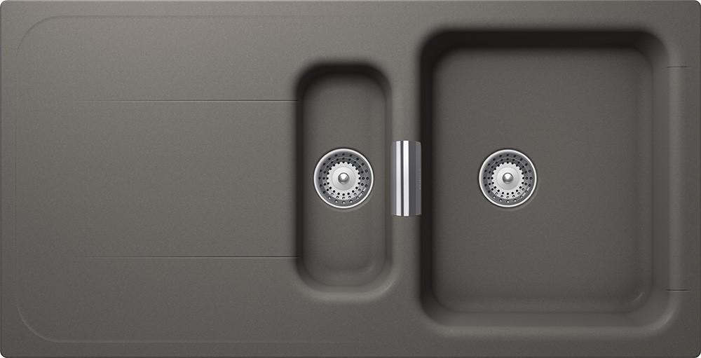 Chiuveta Granit Schock Wembley D-150 Silverstone Cristadur 1000 x 510 mm