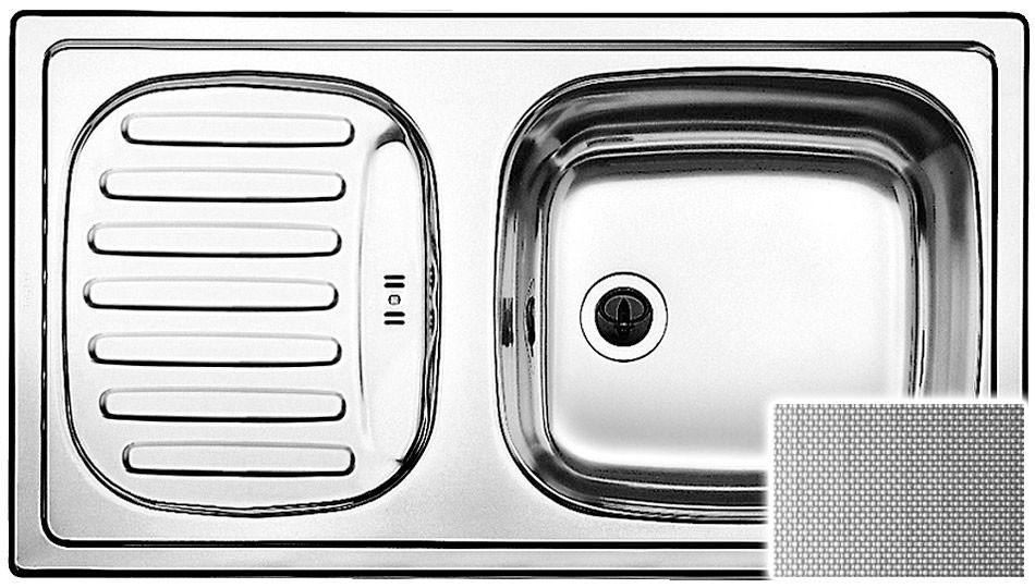 Chiuveta Inox Blanco Flex Mini C Panzat 780 x 435 mm