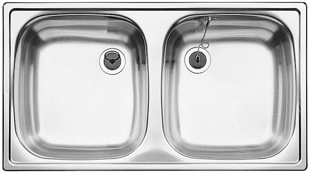 Chiuveta Inox Blanco Top ED 8x4 C 780 x 435 mm