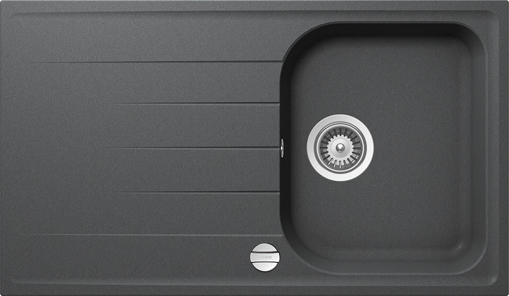 Chiuveta Granit Schock Viola D-100 Inox Cristalite 860 x 500 mm cu Sifon Automat