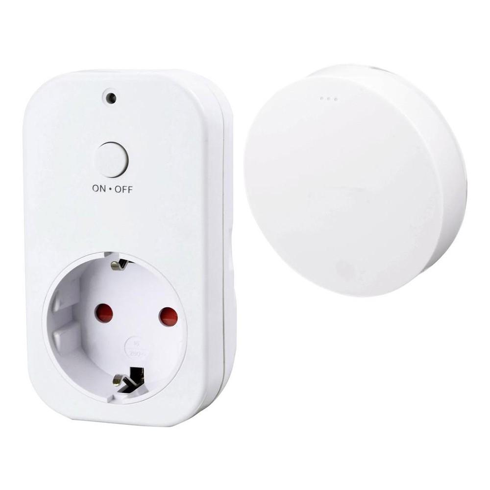 Priza si Intrerupator Wireless X4-Life cu Efect Piezzo