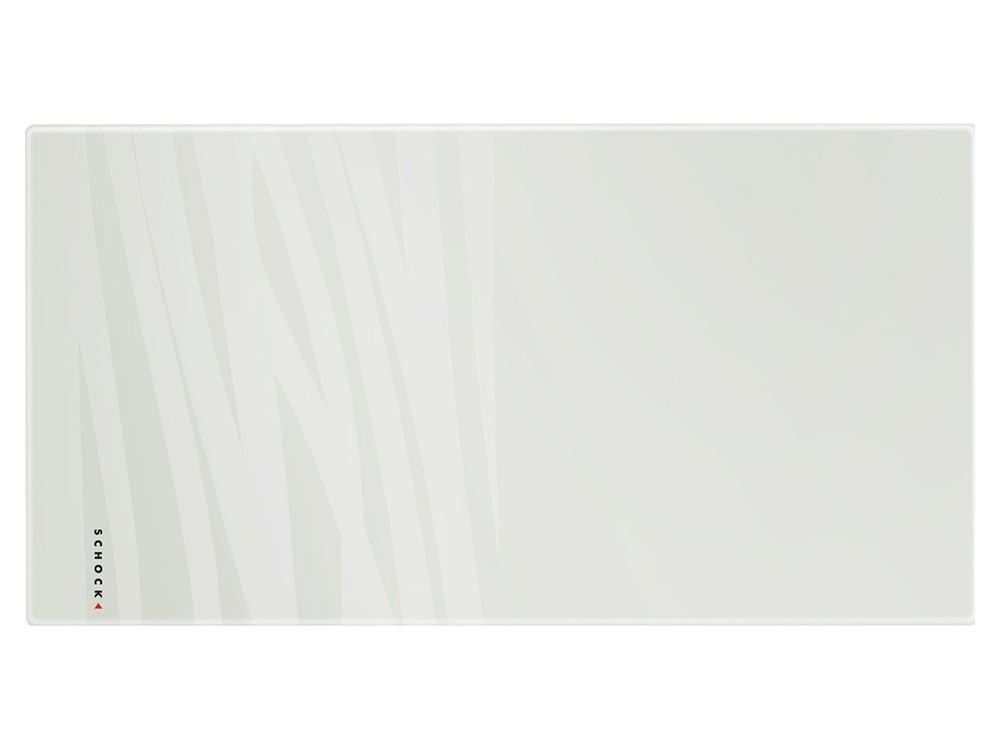 Tocator Sticla Schock Alb 528 x 275 x 4 mm