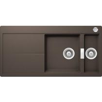 Chiuveta Granit Schock Eden D-150 Mocha Cristalite 1000 x 500 mm cu Sifon Automat