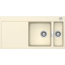 Chiuveta Granit Schock Eden D-150 Crema Cristalite 1000 x 500 mm cu Sifon Automat