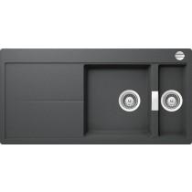 Chiuveta Granit Schock Eden D-150 Inox Cristalite 1000 x 500 mm cu Sifon Automat