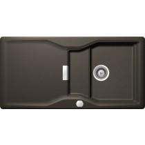 Chiuveta Granit Schock Kyoto D-100L Carbonium Cristadur 1000 x 500 mm cu Sifon Automat