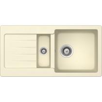 Chiuveta Granit Schock Typos D-150S Crema Cristalite 860 x 435 mm