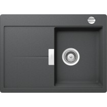 Chiuveta Granit Schock Eden D-100S Inox Cristalite 680 x 500 mm cu Sifon Automat