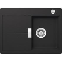 Chiuveta Granit Schock Eden D-100S Onyx Cristalite 680 x 500 mm cu Sifon Automat