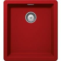 Chiuveta Granit Schock Greenwich N-100S Rosu Cristadur 406 x 456 mm