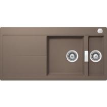 Chiuveta Granit Schock Horizont D-150 Earth 1000 x 500 mm cu Sifon Automat