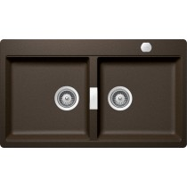 Chiuveta Granit Schock Horizont N-200 Bronze 860 x 500 mm cu Sifon Automat