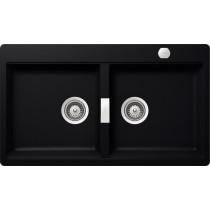 Chiuveta Granit Schock Horizont N-200 Puro 860 x 500 mm cu Sifon Automat