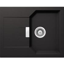 Chiuveta Granit Schock Manhattan D-100XS Nero Cristalite 640 x 510 mm