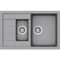 Chiuveta Granit Schock Manhattan D-150S Croma Cristalite 780 x 500 mm