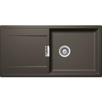 Chiuveta Granit Schock Mono D-100L Carbonium Cristadur 1000 x 510 mm