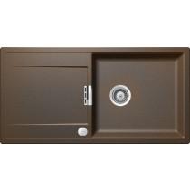 Chiuveta Granit Schock Mono D-100L Vintage Cristadur 1000 x 510 mm cu Sifon Automat