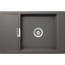 Chiuveta Granit Schock Mono D-100XS Silverstone Cristadur 780 x 510 mm