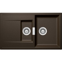 Chiuveta Granit Schock Mono D-150 Bronze Cristadur 860 x 510 mm