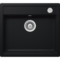 Chiuveta Granit Schock Mono N-100 Puro Cristadur 570 x 510 mm cu Sifon Automat
