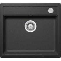 Chiuveta Granit Schock Mono N-100 Stone Cristadur 570 x 510 mm cu Sifon Automat